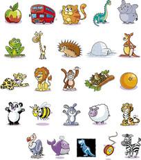 卡通动物合集