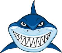 卡通鲨鱼素材