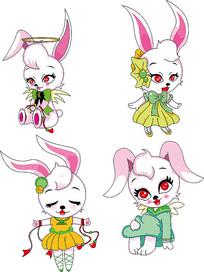 兔子卡通形象