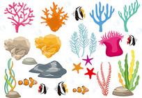海底生物素材