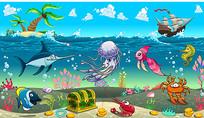 海底世界海洋
