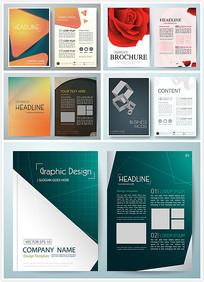 图案设计画册封面矢量eps