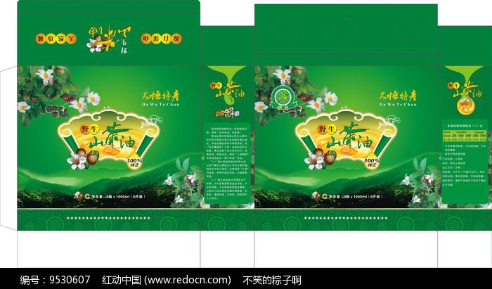 茶油包装设计图片