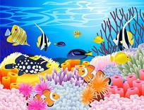 海底世界卡通