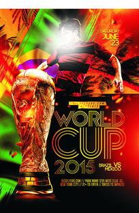 炫酷世界杯海报