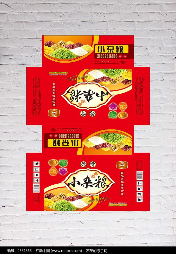 杂粮包装设计图片