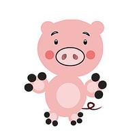小猪卡通形象