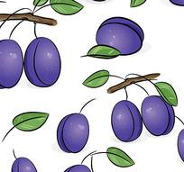 紫色枇杷水果