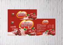 红枣牛奶包装设计