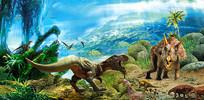 侏罗纪恐龙素材