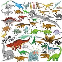 矢量恐龙合集