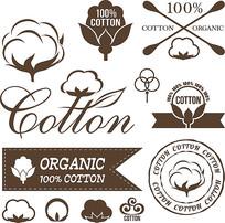 棉花图标素材