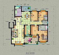 地产户型图设计