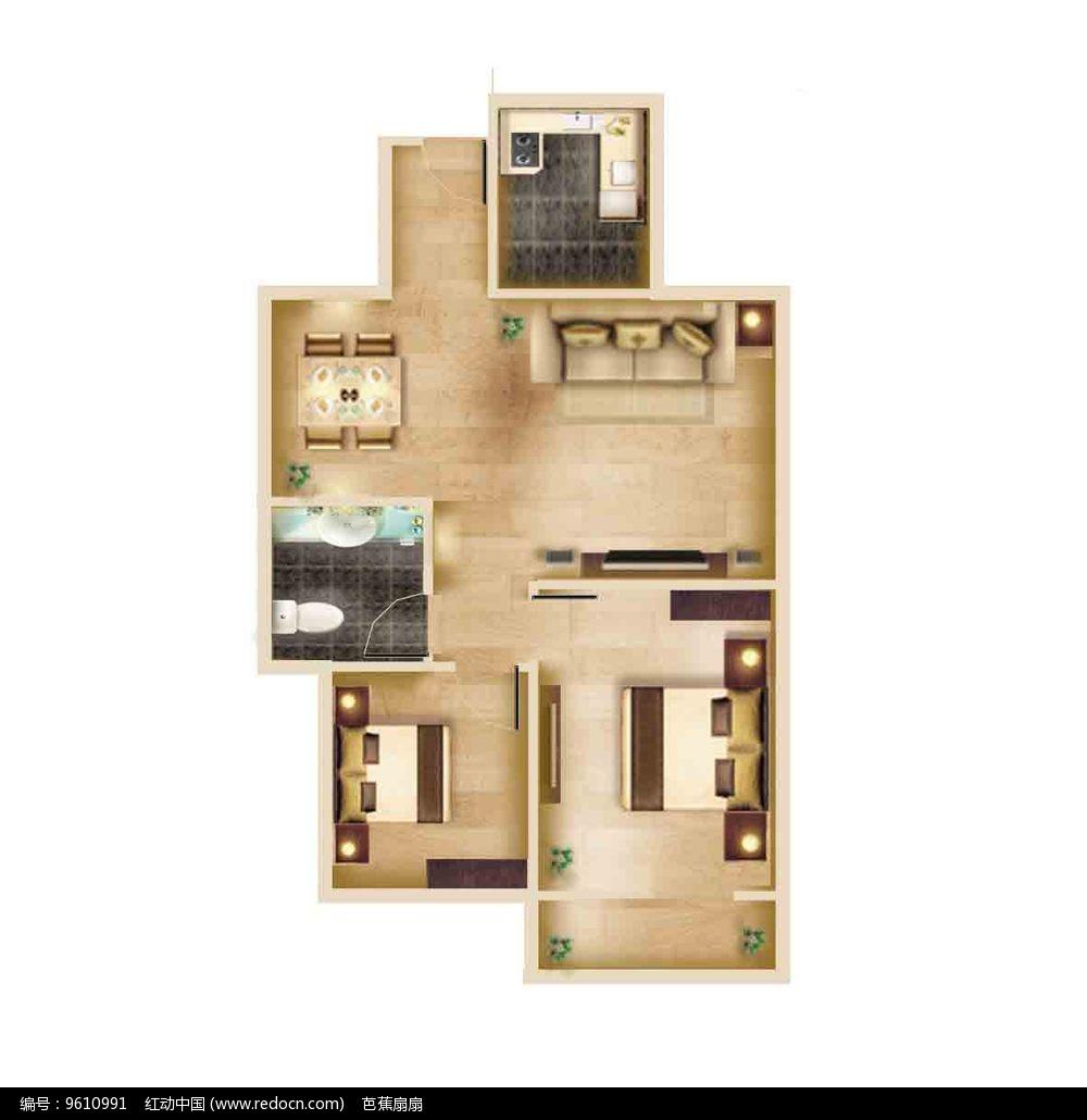 免费素材 psd素材 psd建筑空间 室内设计 楼房户型图  请您分享: 素材