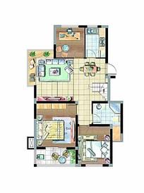 室内平面设计图