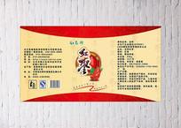 红枣包装封面设计