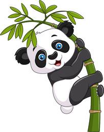 卡通熊猫素材