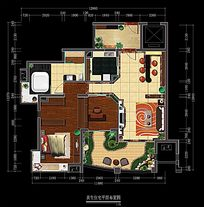 住宅平面户型图模板