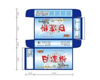 白凉粉包装盒设计