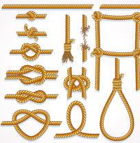 绳索矢量图案
