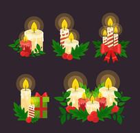 5款精美圣诞蜡烛
