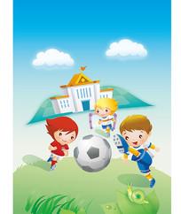 足球运动素材