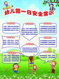 幼儿园一日安全常识宣传栏