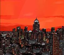 矢量城市风光