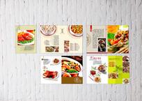 鲁菜菜单设计