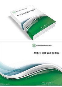 炫酷公司报告书封面设计
