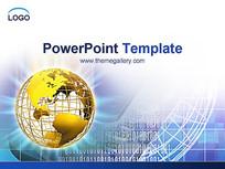 网络科技电子商务PPT模板
