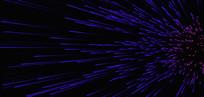 酷炫蓝紫发射线条背景