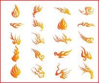 火焰图案素材