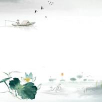 中国画独钓寒江雪绘画艺术