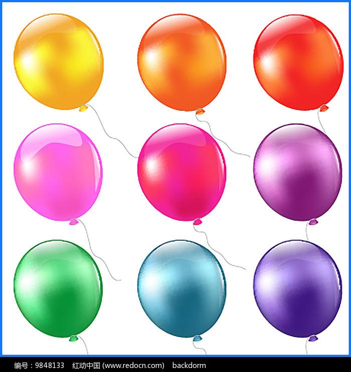 矢量气球素材图片