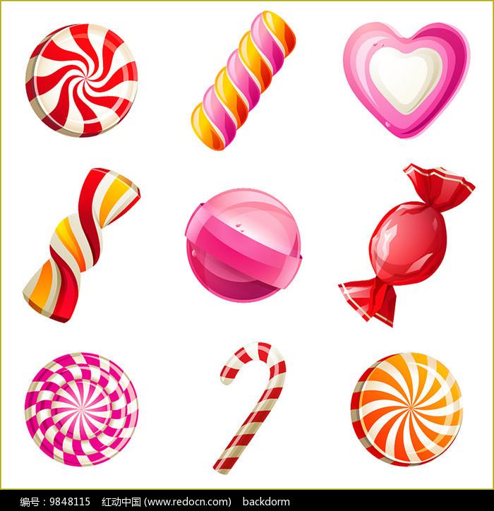 矢量糖果素材图片