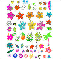 花朵图案合集