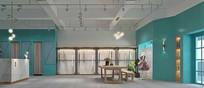 小清新服装店3D设计模型素材