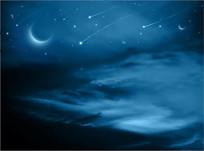 夜晚星空素材