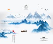 中国风背景墙