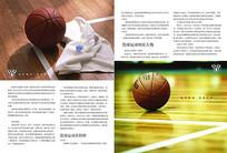 篮球运动版式设计