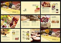 面包甜点宣传画册