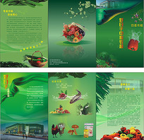 农产品超市宣传册