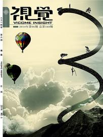 视觉杂志封面