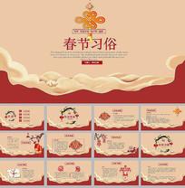 中国春节习俗介绍PPT