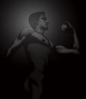超酷男人力量展示