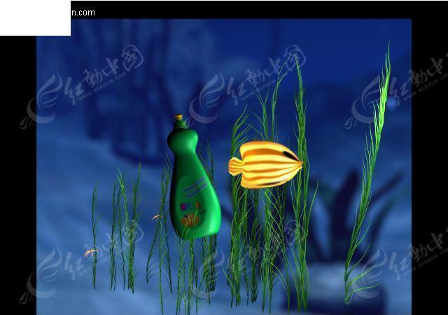 水下鱼fish场景图片