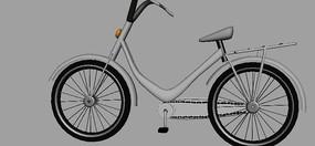 bike自行车3D模型