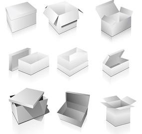 纸盒效果图模板