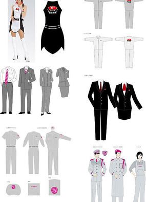 VI服装矢量图